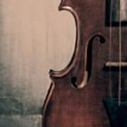 Violin Portrait  Art Print