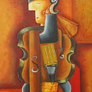 Violin Time Art Print