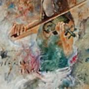 Violinist 56 Art Print