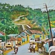 Virajpet Town Art Print