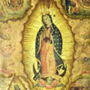 Virgen De Guadalupe Art Print