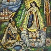 Virgen De Ocotlan Art Print