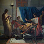 Virgil Reading The Aeneid Art Print
