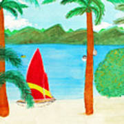 Virgin Island Memories Art Print