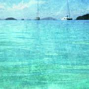 Virgin Islands Blues Art Print