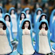 Virgin Mary Figurines Art Print