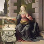 Virgin Mary, From The Annunciation Art Print