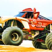 Virginia Beach Monster Truck Rally Art Print