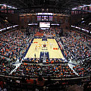 Virginia Cavaliers John Paul Jones Arena Art Print by Replay Photos