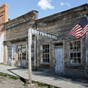 Virginia City Ghost Town - Montana Print by Daniel Hagerman