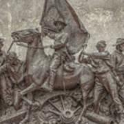Virginia Monument Gettysburg Battlefield Art Print