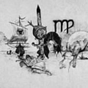 Virgo State Of Mind Art Print