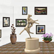 Virtual Exhibition_statue Of A Horse Art Print