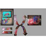 Virtual Sphere Art Print