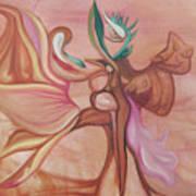 Virtue Of Woman Art Print