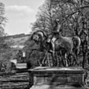 Viscount Gough On Horseback. Art Print