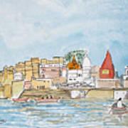 Vishweshwar Jyotirling Art Print