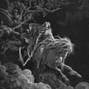 Vision Of Death Art Print by Granger