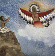 Vision Of The Eagle Spirit Art Print