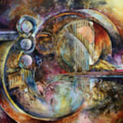 'visions Of Eight' Art Print by Michael Lang