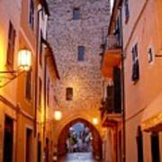 Visions Of Italy Archway Art Print