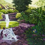 Visions Of Paradise X Art Print
