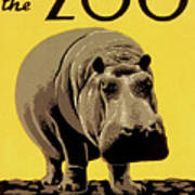 Visit The Zoo Philadelphia Art Print