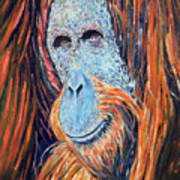 Visit To The Zoo Art Print
