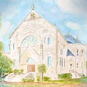 Visitation Monastery Mobile Alabama Art Print