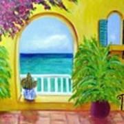 Vista Del Agua Art Print
