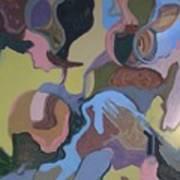 Visual Jazz #23 Art Print