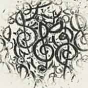 Visual Noise Art Print