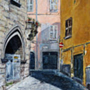 Viterbo Church Art Print