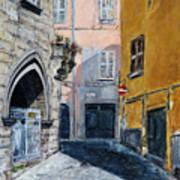 Viterbo Church Art Print
