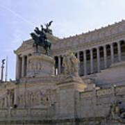 Vittorio Emanuele II Monument Art Print