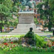 Vittorio Emanuele II Statue Art Print