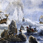 Vitus Jonassen Bering Art Print