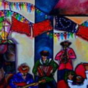 Viva La Musica Art Print