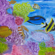 Corals Calling  Art Print