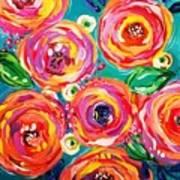 Vivid Flora Art Print
