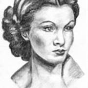 Vivien Leigh Art Print