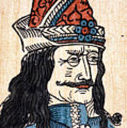 Vlad IIi (1431-1477) Art Print