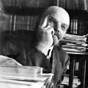 Vladimir Lenin (1870-1924) Art Print