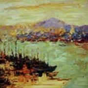 Vladivostok  River Art Print