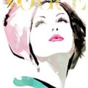 Vogue 3 Art Print