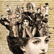 Voices In My Head Art Print