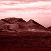 Volcano 3 Art Print