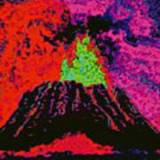Volcano D5b Art Print