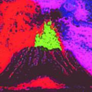 Volcano Dd4 Art Print