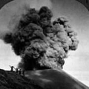 Volcano: Java, 1910 Art Print